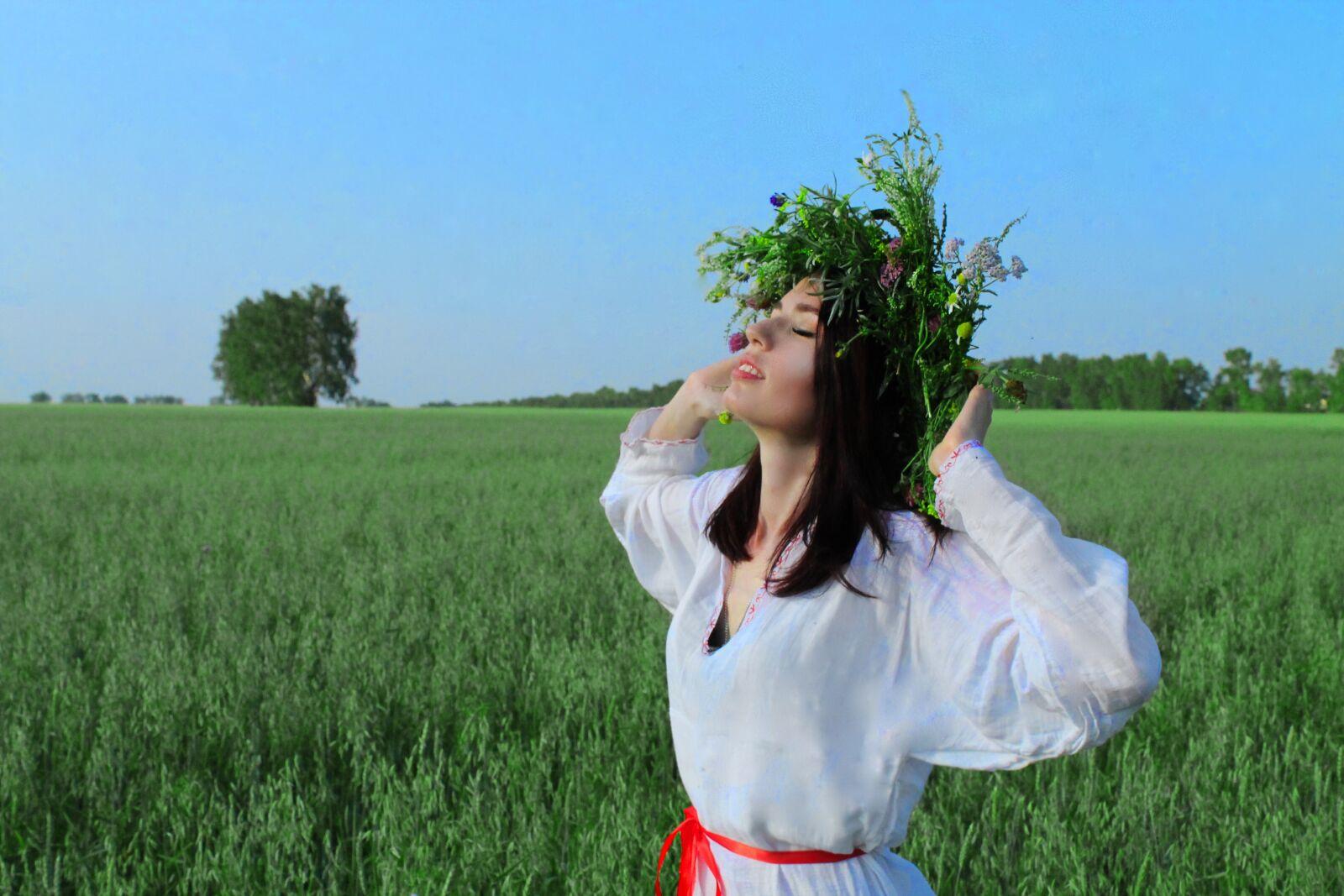 "Canon EOS 1100D (EOS Rebel T3 / EOS Kiss X50) sample photo. ""поле, россия, зелень"" photography"