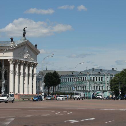 gomel, belarus, architecture, Canon EOS 1100D