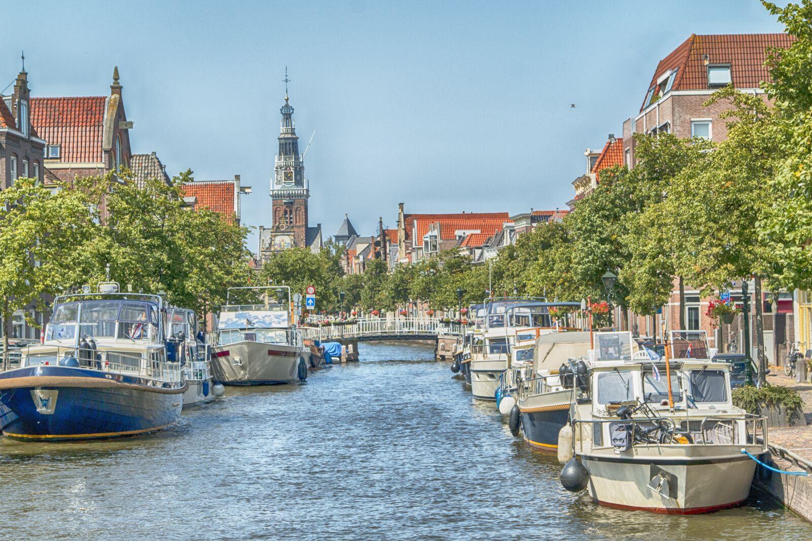 "Canon EOS 70D sample photo. ""Boats, water, alkmaar"" photography"