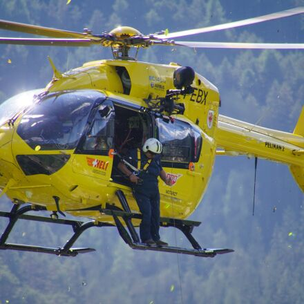 helicopter, civil protection, pelikan, Sony ILCA-77M2