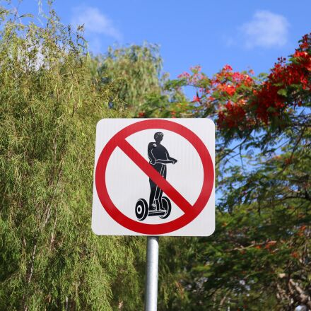 segway, sign, travel, Canon EOS 70D