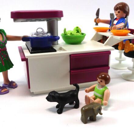 playmobil, kitchen, eat, Sony DSC-WX300