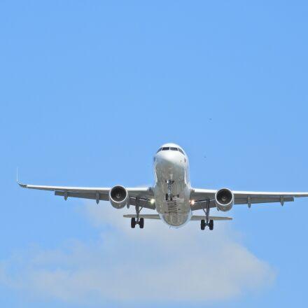 landing, eurowings, aircraft, Nikon COOLPIX B700