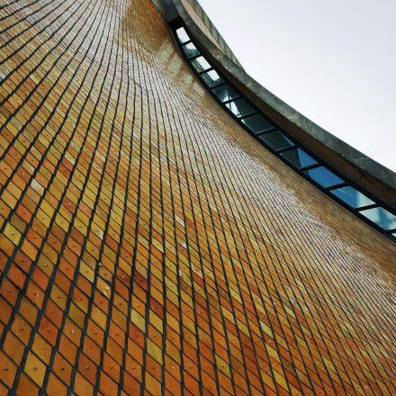tokai university, church, glazed, Sony NEX-6
