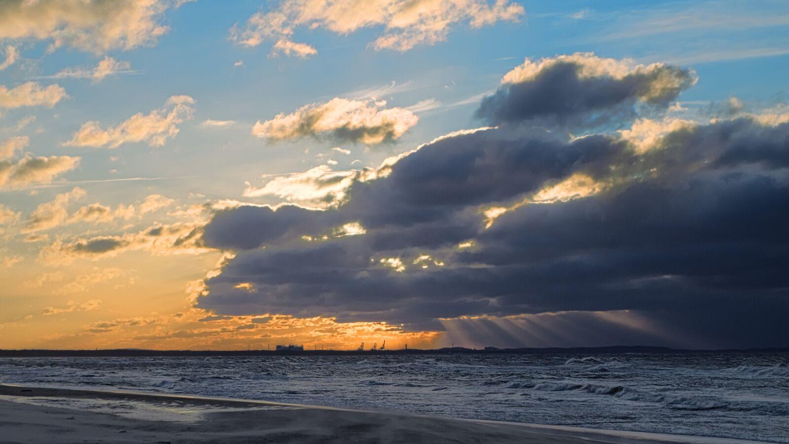 "Fujifilm X-E1 sample photo. ""Sky, clouds, golden hour"" photography"