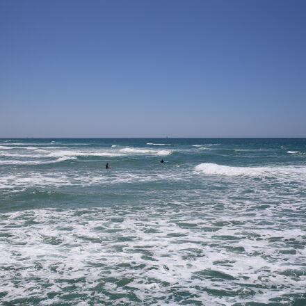 mediterranean, sea, surfer, Canon EOS 6D