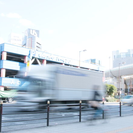 cars, road, speed, truck, Canon EOS 70D