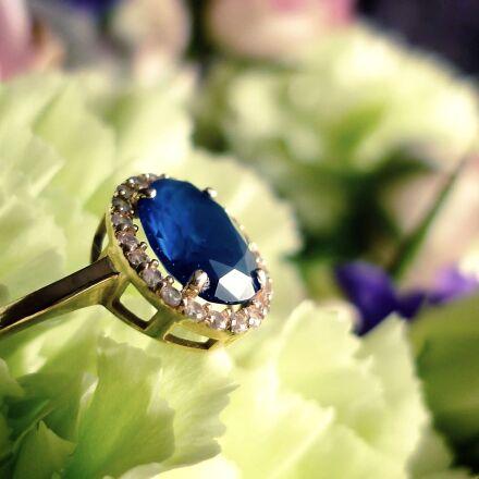 ring, engagement, flowers, Panasonic DMC-FS62