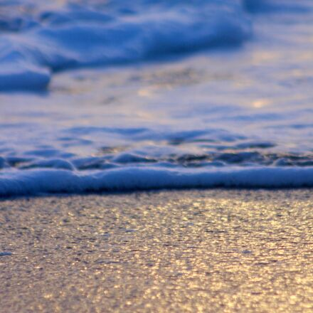 beach, sun, sunset, Canon EOS 700D