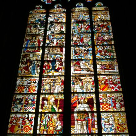 church window, lead-glass window, Sony DSC-W17