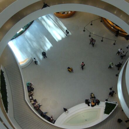 new york, museum, circular, Sony DSC-W210