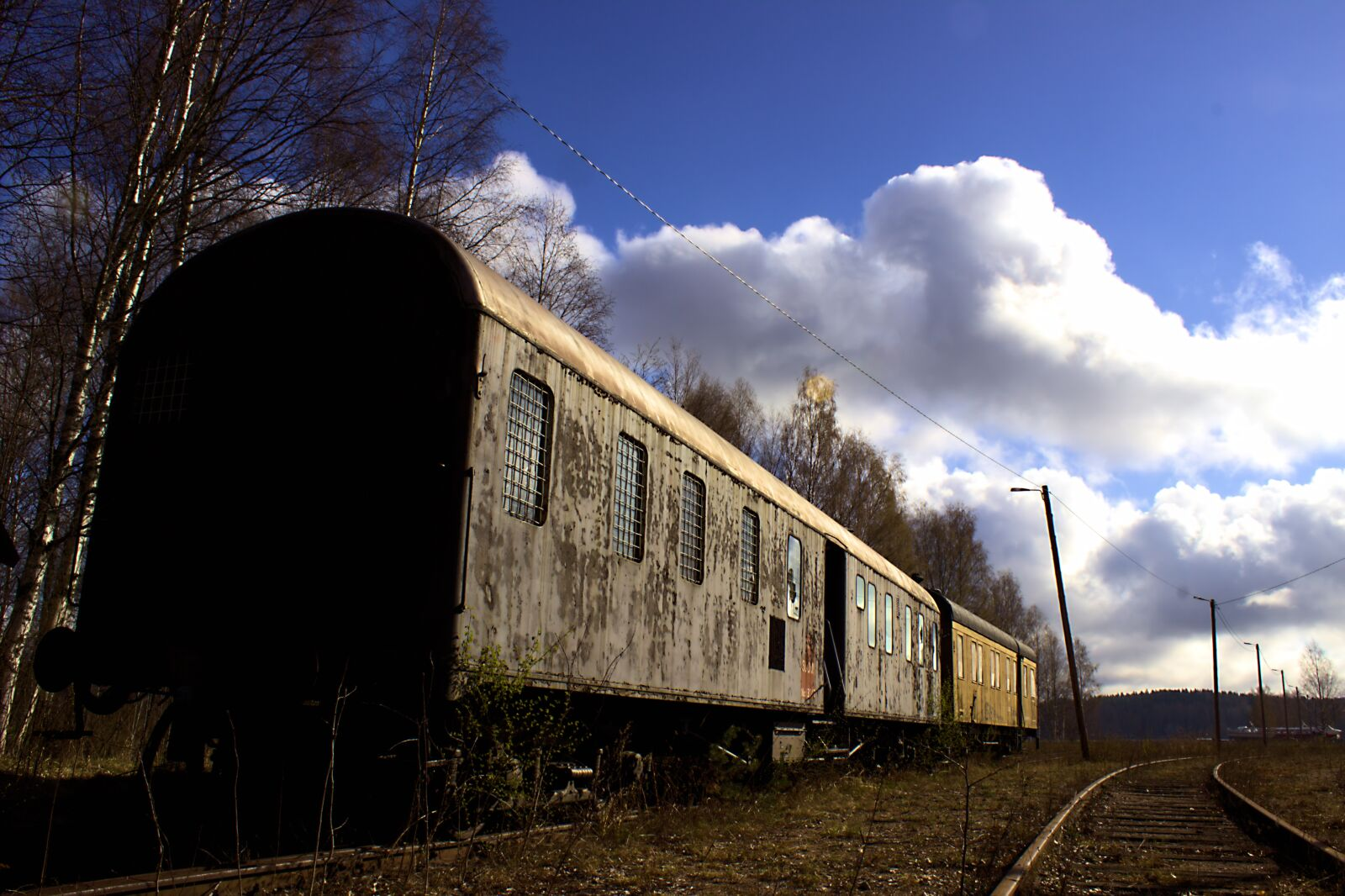 "Canon EOS 600D (Rebel EOS T3i / EOS Kiss X5) sample photo. ""Train, wagon, railway"" photography"