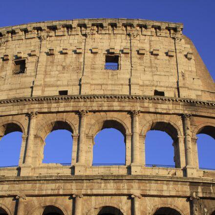 colosseum, rome, ancient rome, Canon EOS 400D DIGITAL