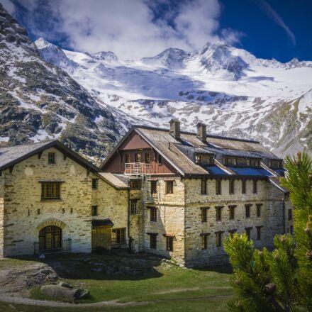 mountain hut, zillertal, ginzling, Sony ILCE-6000