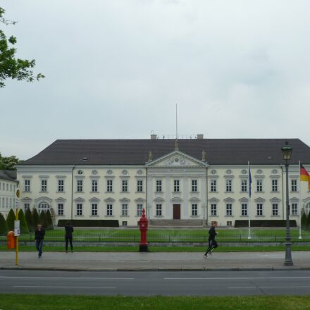 bellevue, castle, berlin, Panasonic DMC-FS10