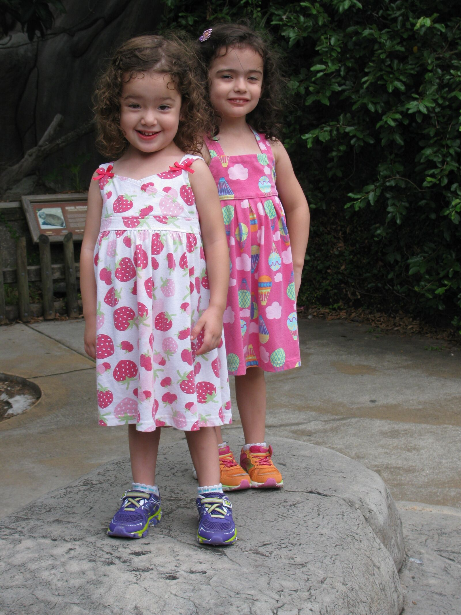 """Canon PowerShot SX110 IS sample photo. """"Twins, girls, sisters"""" photography"""
