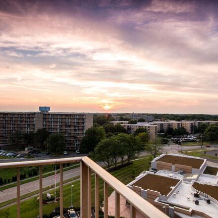 landscape, sunset, Nikon D610