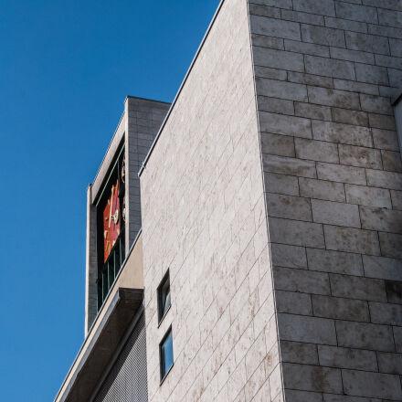 building, stuttgart, town, hall, Nikon D40X