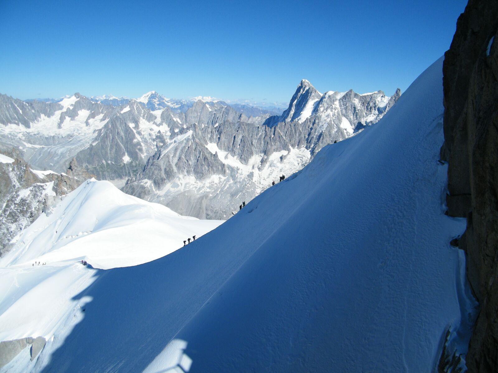 "Fujifilm FinePix S2000HD sample photo. ""Mountains, nature, snow caps"" photography"