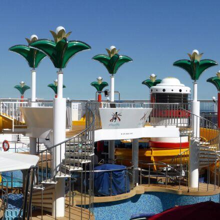 holiday, cruise boat, deck, Panasonic DMC-TZ40
