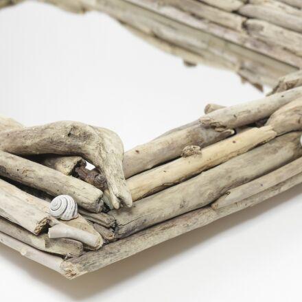 driftwood, wooden, mirror, Canon EOS 6D
