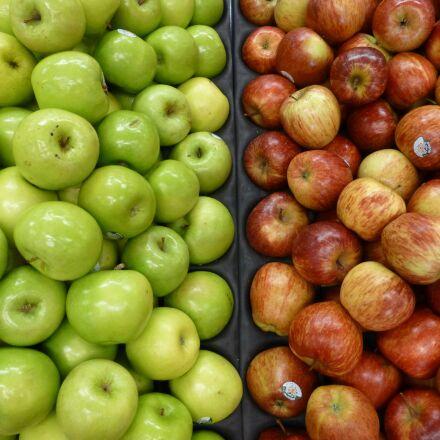apples, market, fruit, Panasonic DMC-TZ30