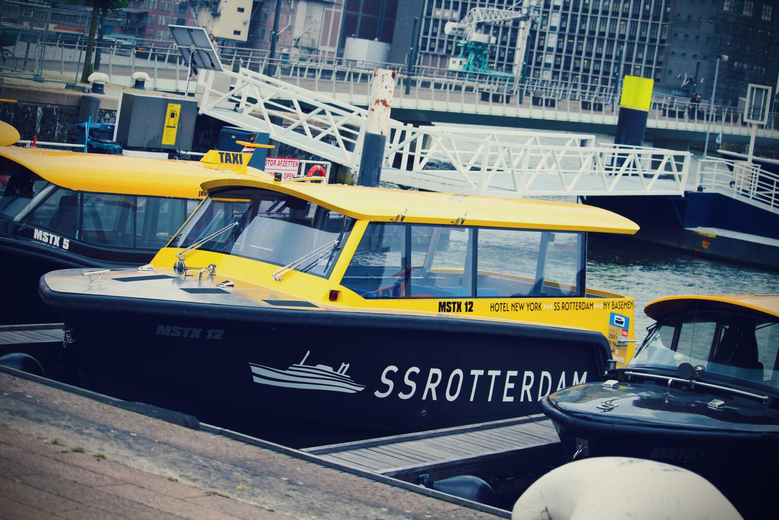 "Canon EOS 100D (EOS Rebel SL1 / EOS Kiss X7) sample photo. ""City, ferry, harbour, rotterdam"" photography"
