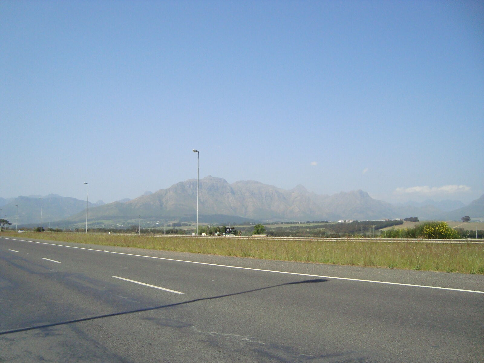 country, road, mountain, range