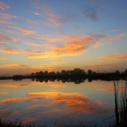 sunrise, landscape, scenic, Sony NEX-6