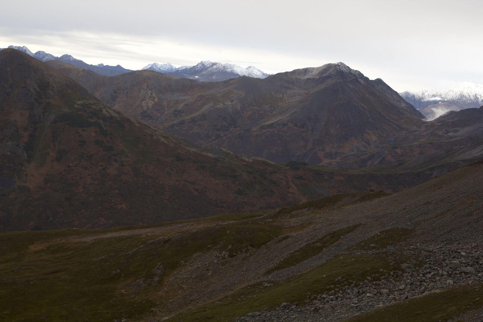 """Canon EOS 60D sample photo. """"Mountains, cloudy, valley"""" photography"""