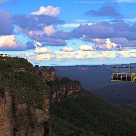 australia, skyway, three sisters, Canon EOS 750D