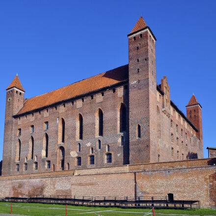 castle, crusaders, gniew, poland, Nikon D5000