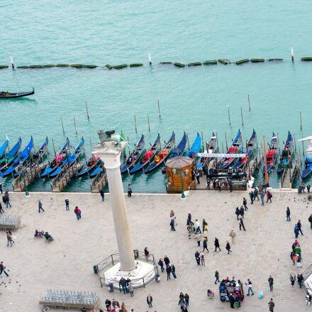 gondola, boats, venice, Sony NEX-6