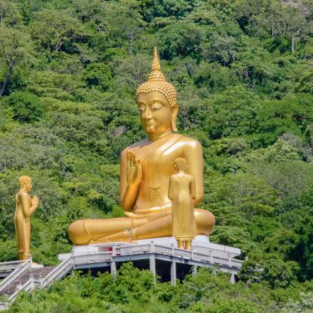 buddha, glod, image, Canon EOS KISS X7I