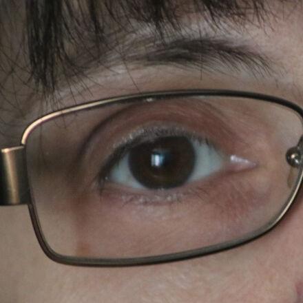 eye, eye, glasses, female, Canon EOS REBEL T6I