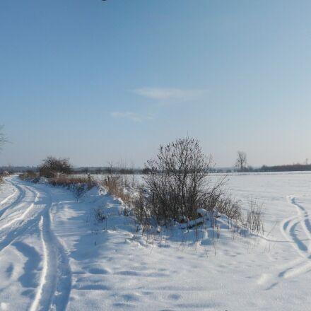 snow, way, winter, Panasonic DMC-FX10