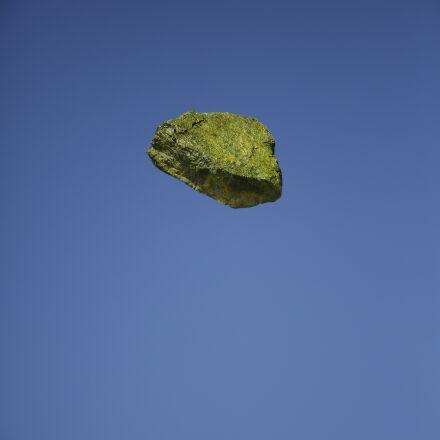rock, yellow, floating, Canon EOS 5D MARK III