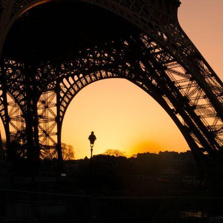 eiffel tower, paris, france, Panasonic DMC-G70