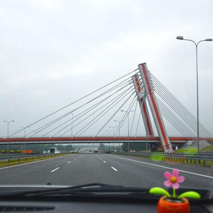 asphalt, bridge, car, city, Nikon D5300