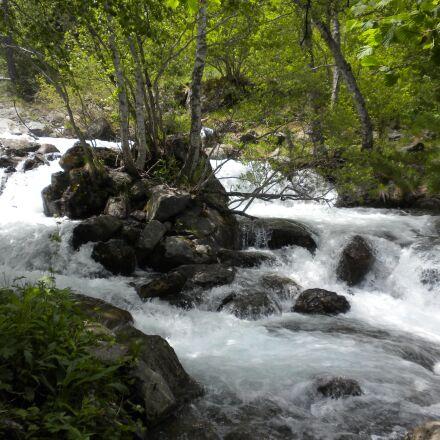 spain, andorra, streams, Nikon COOLPIX S630