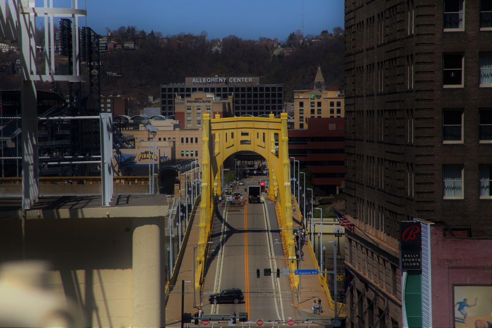 bridge, downtown, pittsburgh, street, Canon EOS 5D MARK II, Canon EF 28-135mm f/3.5-5.6 IS