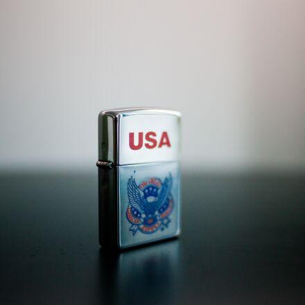zippo, cigarette lighter, usa, Canon EOS 5D MARK II