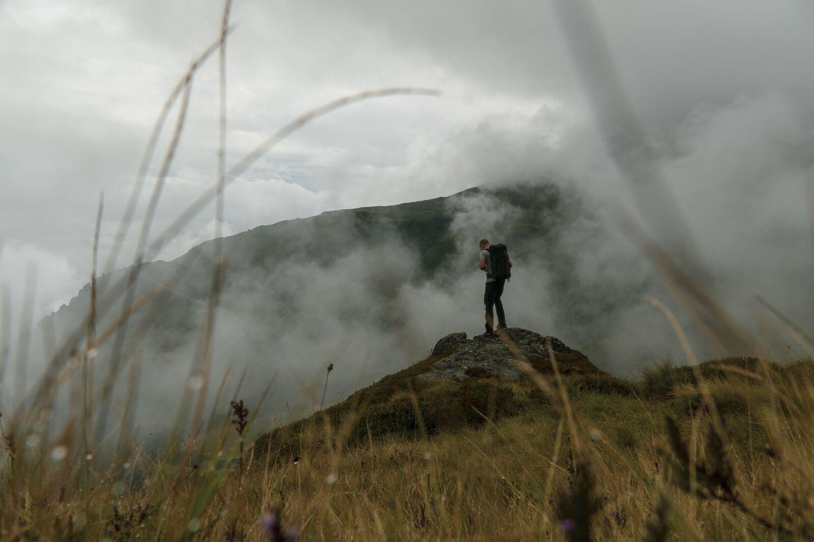 "Sony a6400 sample photo. ""Hiker, hiking, backpacker"" photography"