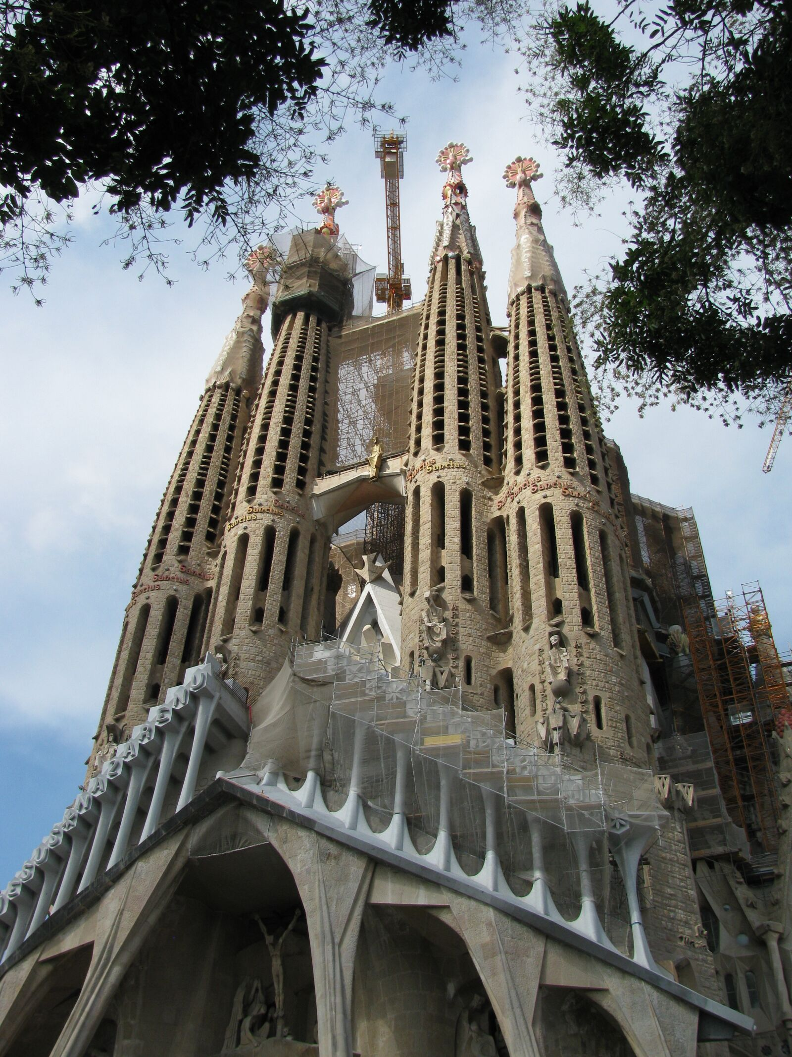 """Canon PowerShot SX110 IS sample photo. """"Barcelona, the cathedral, spain"""" photography"""