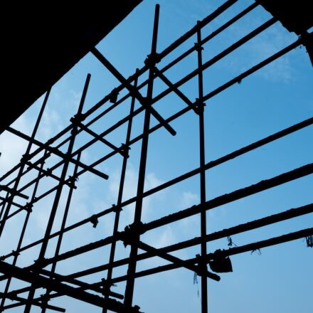 building, simple, construction site, Fujifilm X-E2S