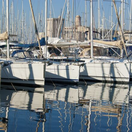 sailboat, boat, harbour, Pentax K10D