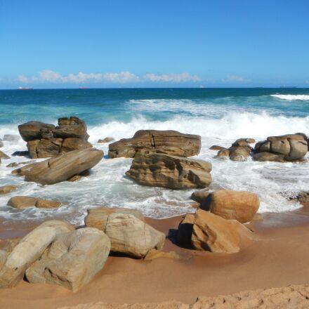 sea, beach, umhlanga, Nikon COOLPIX AW100