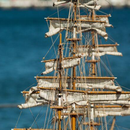 sailboat, sails, rigging, Pentax K10D