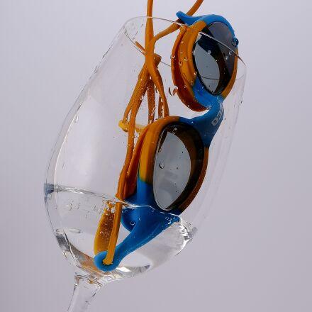 water, glass, diving mask, Fujifilm X-T2