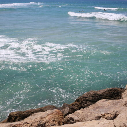 mediterranean, sea, surfers, Canon EOS 6D